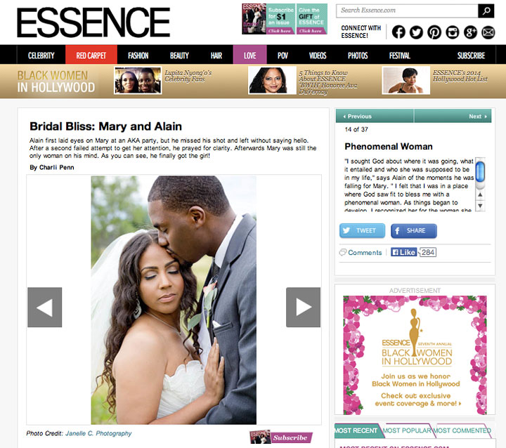 Featured on Essence - Janelle C Photography - Destination Wedding Photographer- Atlanta, GA -3
