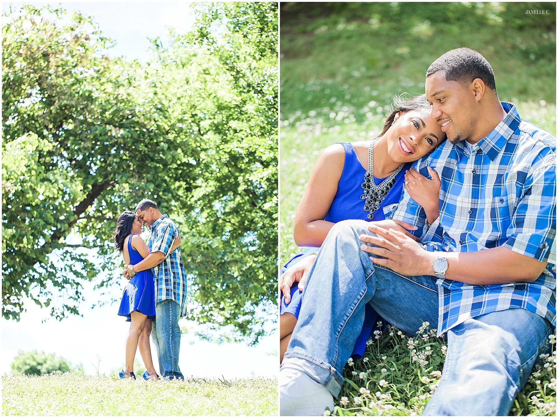 Atlanta Georgia Engagement Photographer - Janelle C. Photography - Piedmont Park_020